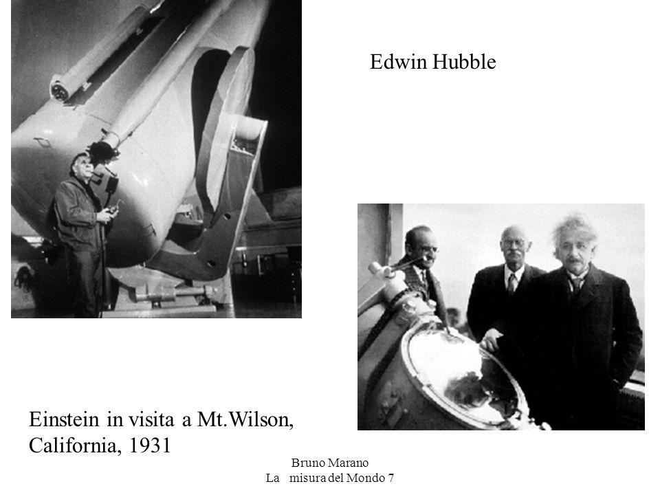Bruno Marano La misura del Mondo 7 Edwin Hubble Einstein in visita a Mt.Wilson, California, 1931