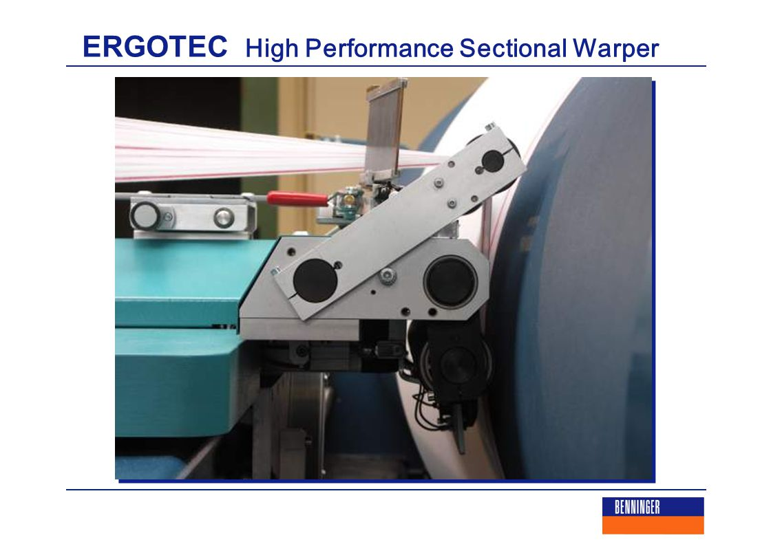 ERGOTEC High Performance Sectional Warper