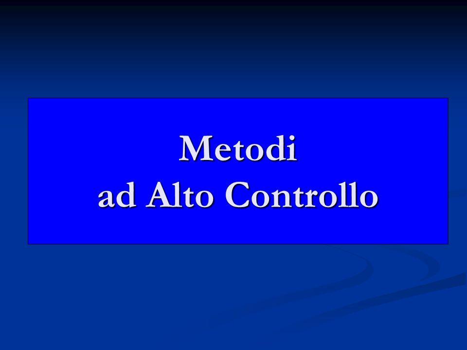 Metodi ad Alto Controllo