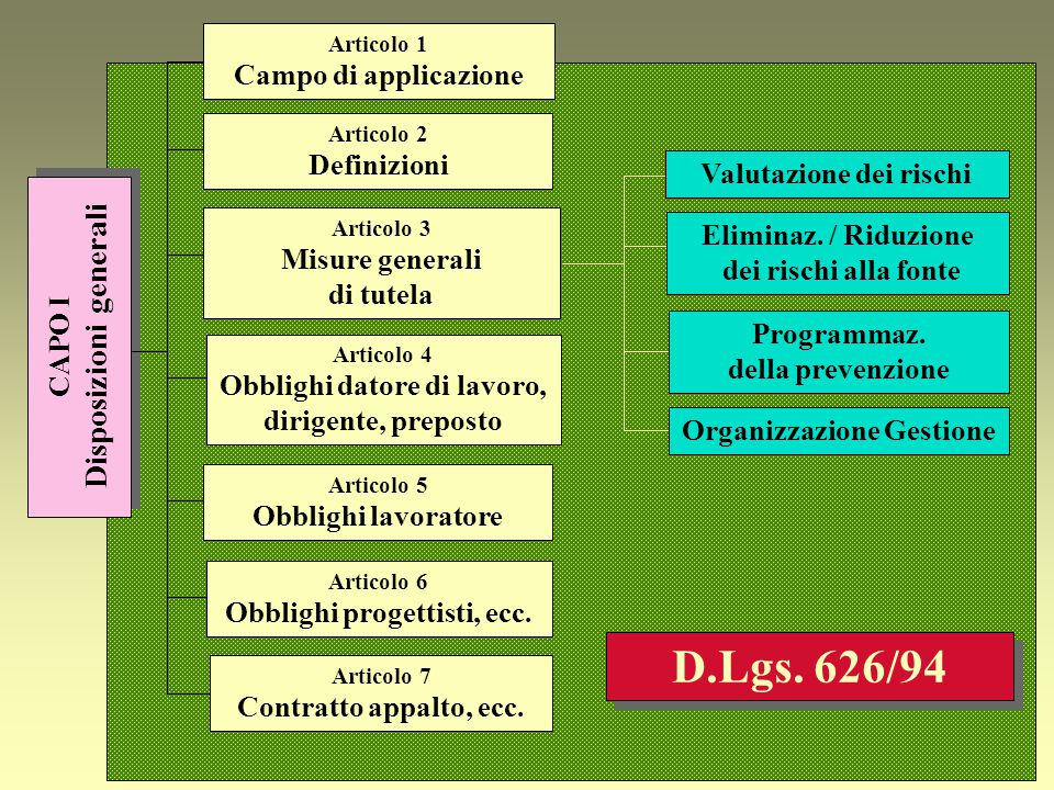 CAMPO DI APPLICAZIONE (Art.
