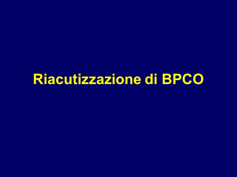 Riacutizzazione di BPCO