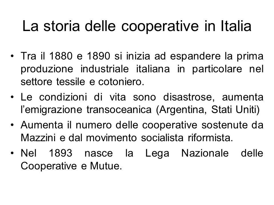 Le differenze tra: imprese cooperative e capitalistiche Le imprese cooperative sono imprese gestite dal lavoro in base al principio una testa un voto .