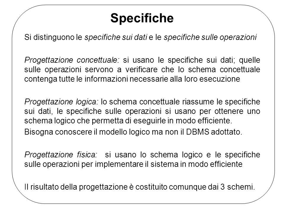Modello Entità-Relazione (E-R) E' un modello concettuale di dati e fornisce una serie di strutture (costrutti) per descrivere il problema di interesse in modo chiaro e semplice.