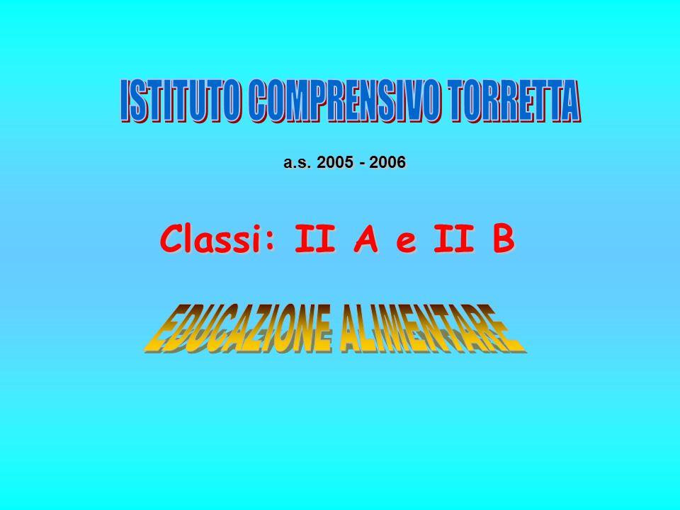 a.s. 2005 - 2006 Classi: II A e II B