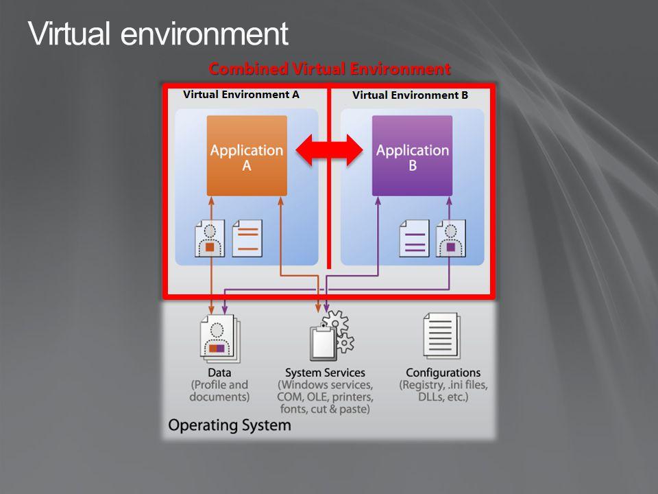 Combined Virtual Environment Virtual environment