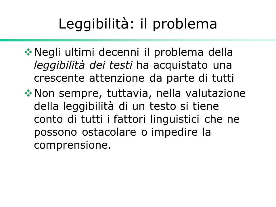 Risultati indagine Genesio  La Gazzetta dello Sport : Gulpease 53.3, Flesch-Vacca 61.8