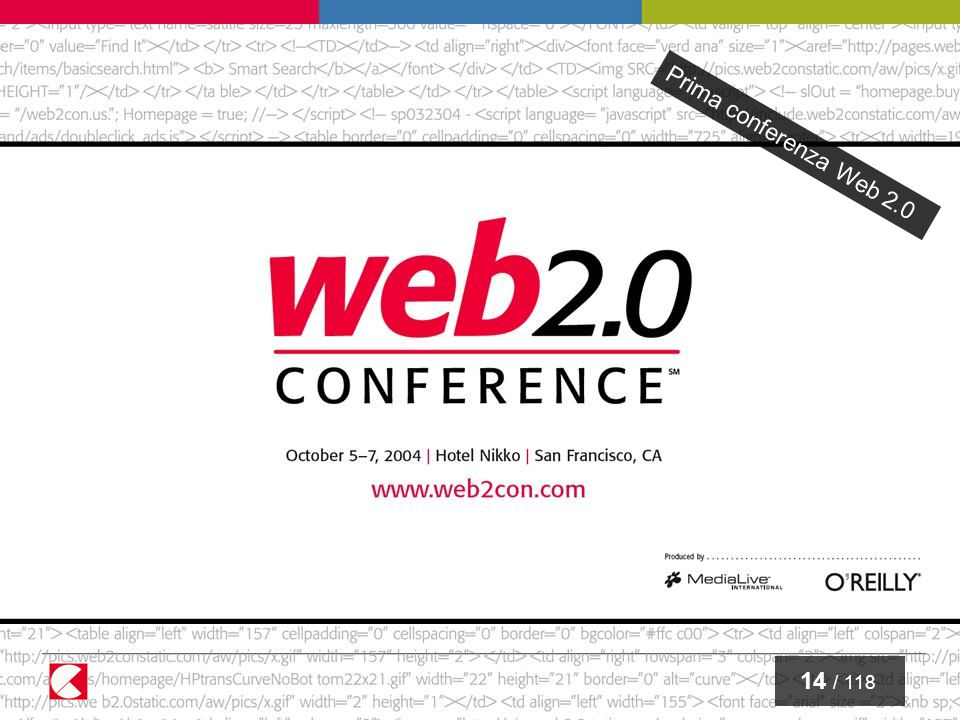 15 / 118 Web 2.0 Web 2.0 refers to a perceived second generation of web-based communities and hosted services — such as social-networking sites, wikis, and folksonomies — which aim to facilitate creativity, collaboration, and sharing between users. [ http://wikipedia.org / ]http://wikipedia.org /
