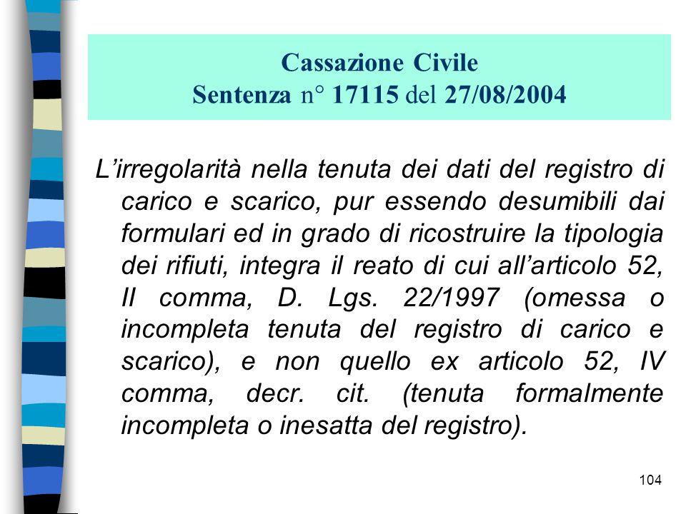 103 Articolo: 52 (Violazione degli obblighi di comunicazione, di tenuta dei registri obbligatori e dei formulari)… 3.