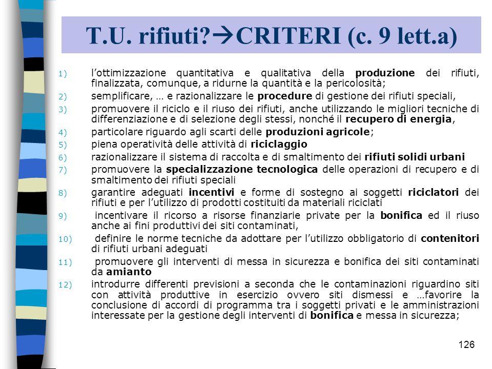 125 I 5 testi unici 12/9 Presentate le bozze 3/10 Testi definitivi dalla Commissione Consiglio dei Ministri Parere Stato-Regioni e Consiglio di Stato .