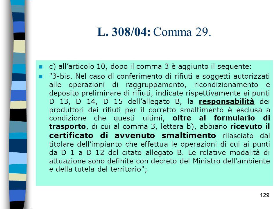 128 L 308/04: Comma 29.