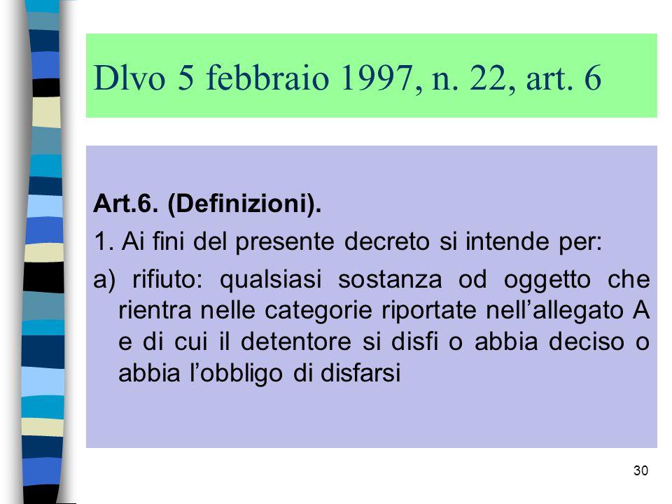 29 Dir.75/442/CE ART. 1, lett.