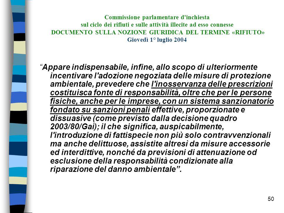 49 Proposta di direttiva 13 marzo 2001, COM (2001)139 def.