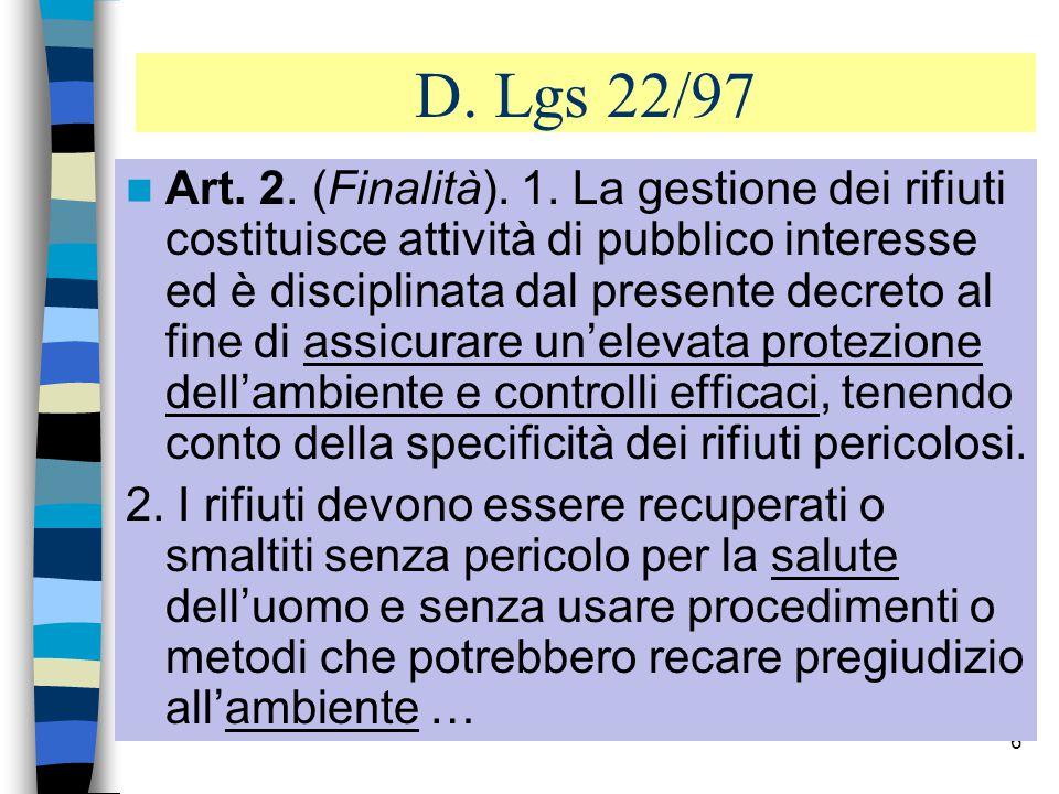 5 Art.1 (Campo d applicazione) 1.