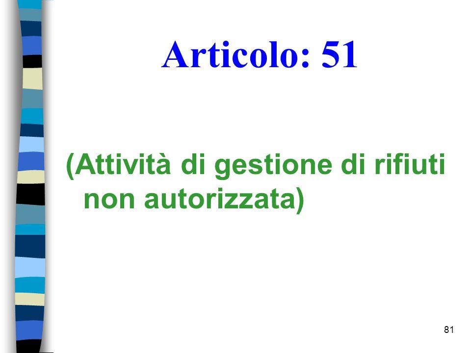 80 Nozione di discarica D.Lgs 13.1.03, n. 36, art.