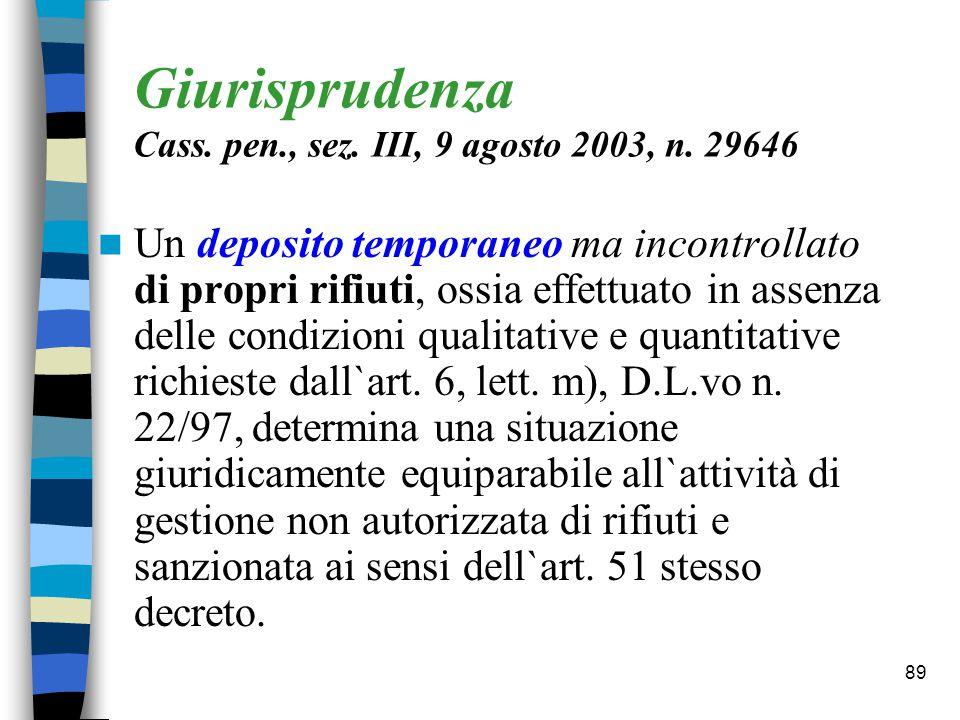 88 DPR 15.7.03, n.