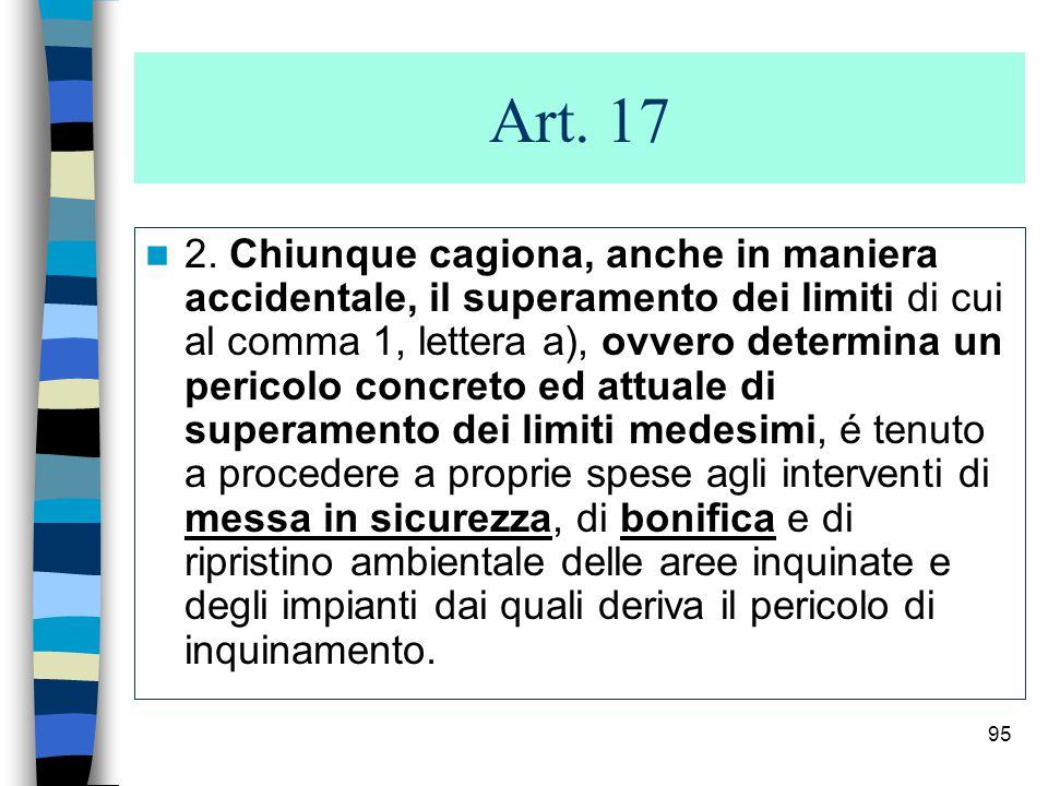 94 Articolo: 51 bis (Bonifica dei siti) (Bonifica dei siti).