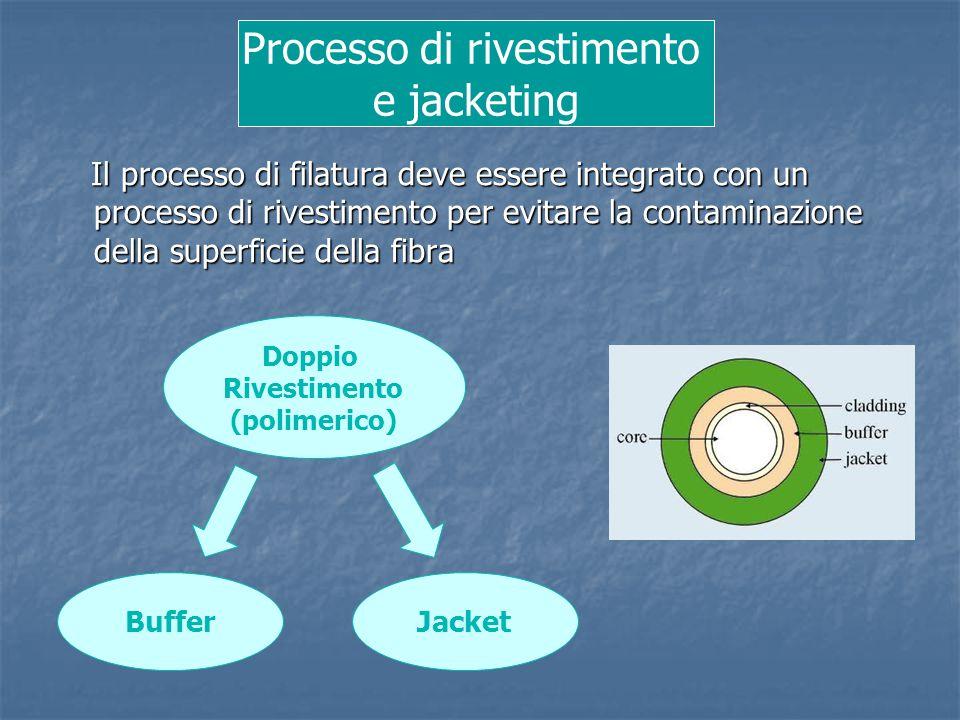 Il processo di filatura deve essere integrato con un processo di rivestimento per evitare la contaminazione della superficie della fibra Il processo d