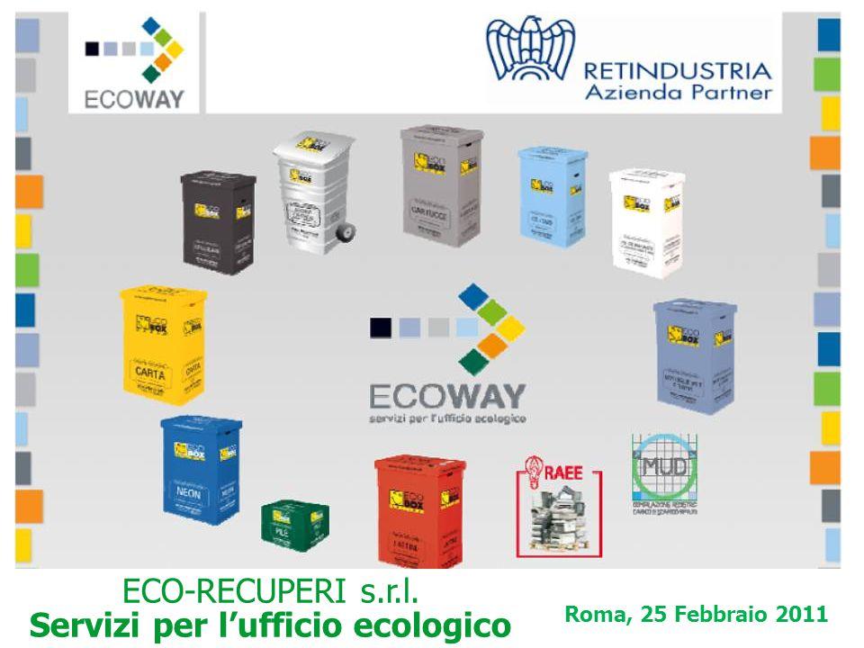 Roma, 25 Febbraio 2011 ECO-RECUPERI s.r.l. Servizi per l'ufficio ecologico