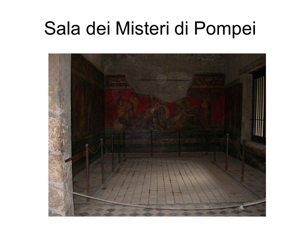 Sala dei Misteri di Pompei