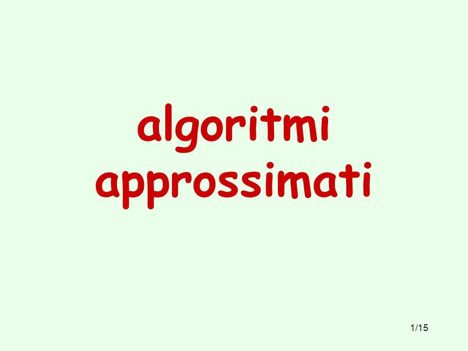 1/15 algoritmi approssimati