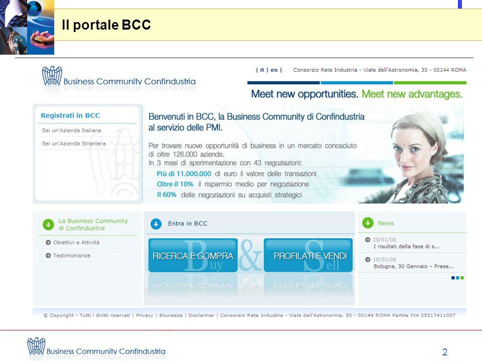 2 Il portale BCC