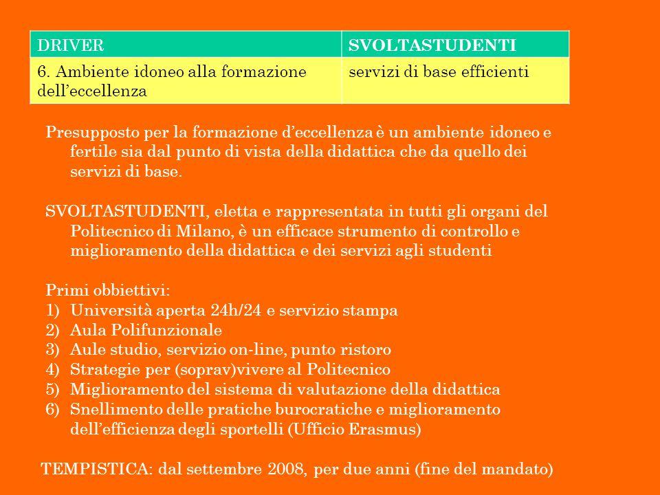 ALTRI SERVIZI OFFERTI DA SVOLTASTUDENTI 8.