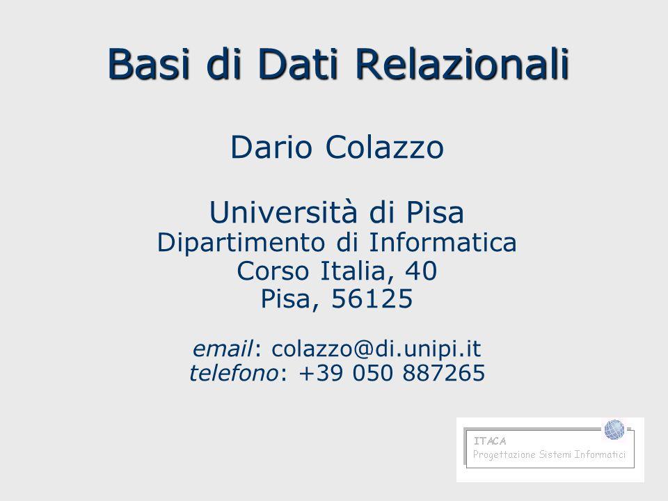Basi di datiDario Colazzo162 Intersezione, query SELECT DuplicateCustomers1.* FROM DuplicateCustomers1 LEFT JOIN DuplicateCustomers2 ON (DuplicateCustomers1.CustomerID = DuplicateCustomers2.CustomerID) AND (DuplicateCustomers1.CompanyName = DuplicateCustomers2.CompanyName) WHERE DuplicateCustomers2.CustomerID IS NOT NULL;