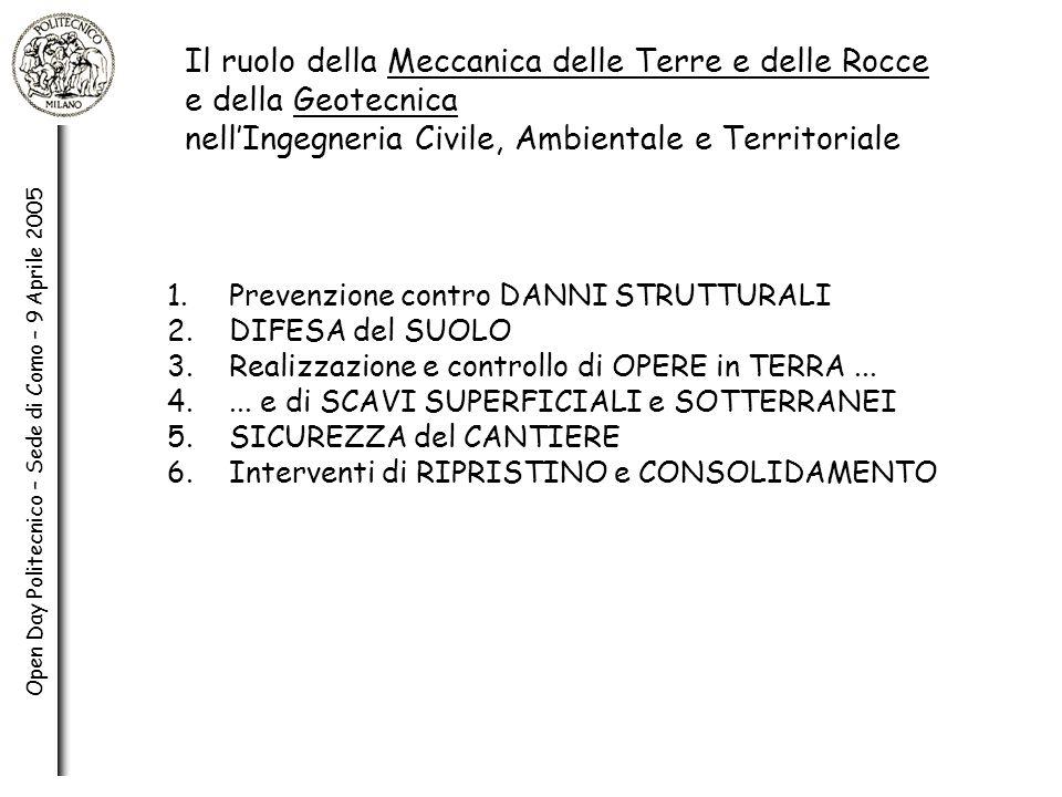 Open Day Politecnico – Sede di Como – 9 Aprile 2005 1.