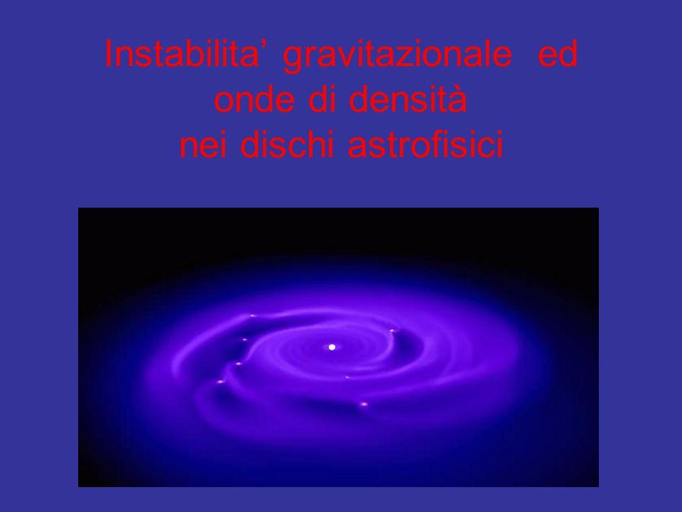 Teoria delle perturbazioni gravitazionali introdotta negli anni '60 per spiegare la struttura a spirale della galassia (Lin, Shu).