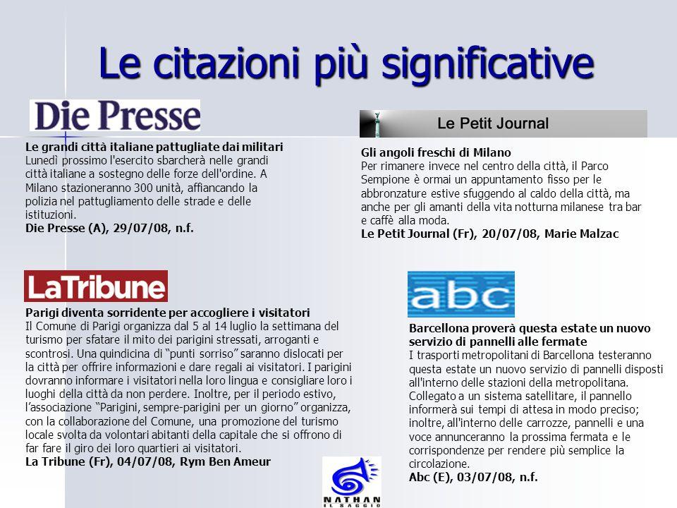 Le grandi città italiane pattugliate dai militari Lunedì prossimo l'esercito sbarcherà nelle grandi città italiane a sostegno delle forze dell'ordine.