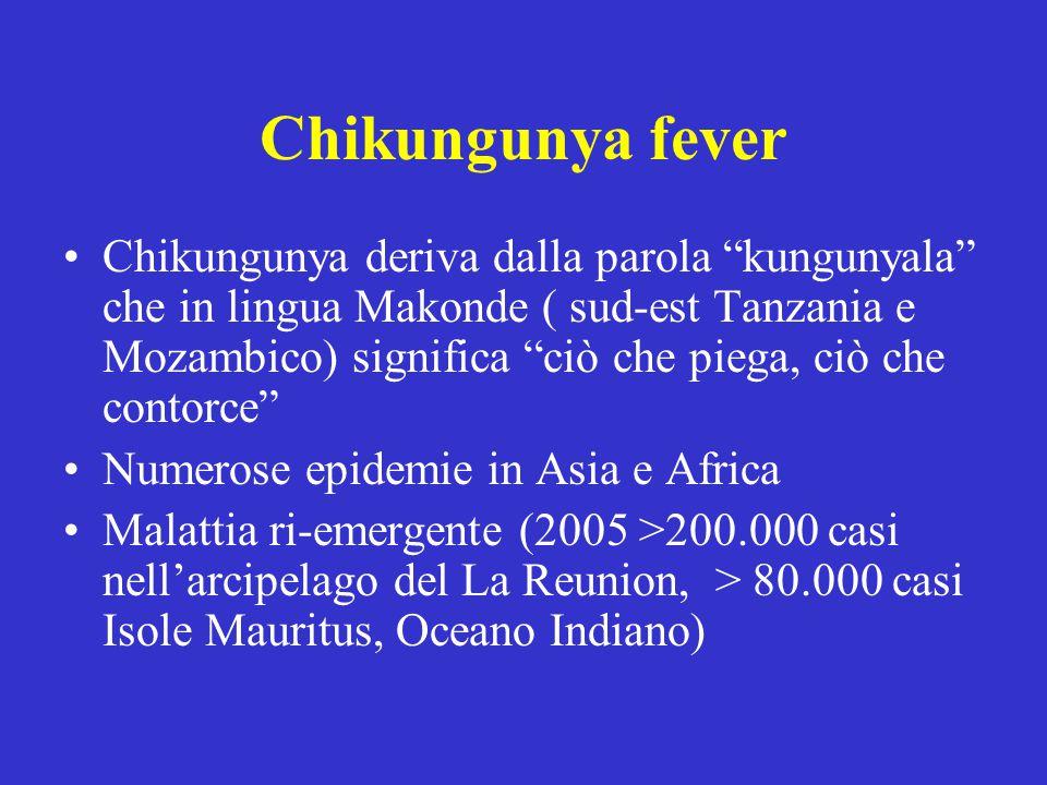 L infezione dal virus Chikungunya, come molte altre malattie virali viene trattata con farmaci di supporto, quali antipiretici, antidolorifici e antinfiammatori.