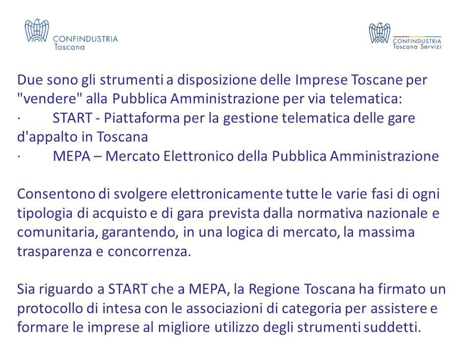Due sono gli strumenti a disposizione delle Imprese Toscane per