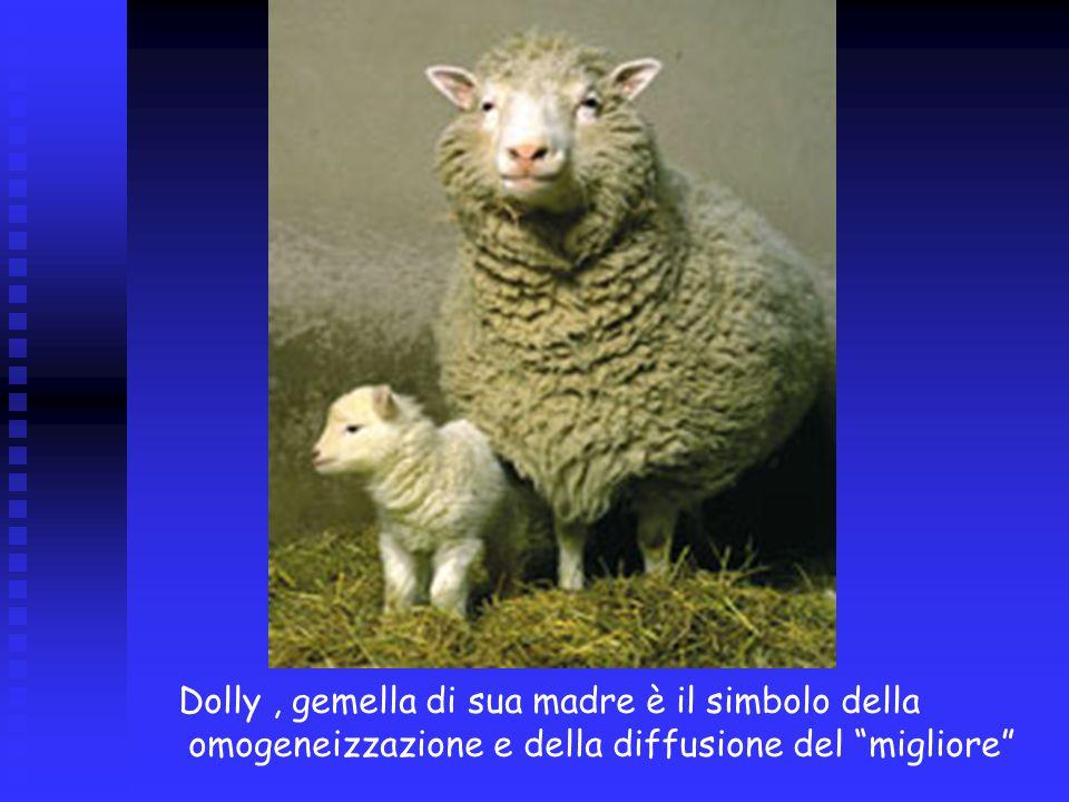 Dolly, gemella di sua madre è il simbolo della omogeneizzazione e della diffusione del migliore