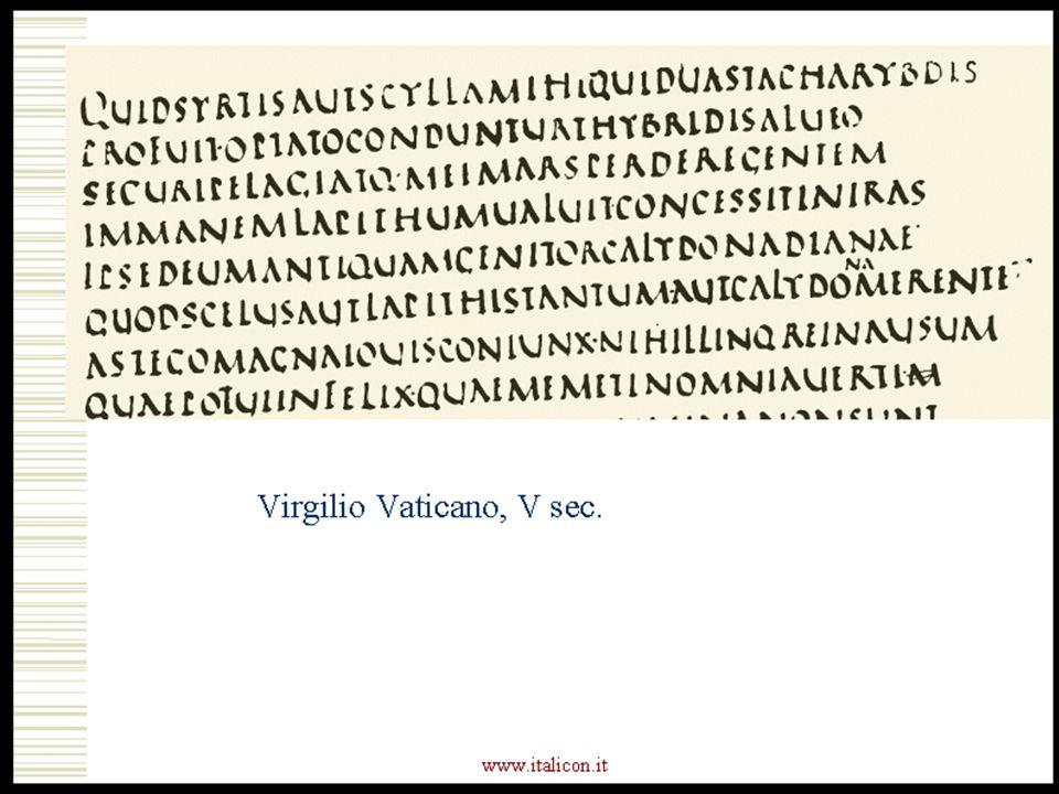 www.italicon.it Virgilio Vaticano, V sec.