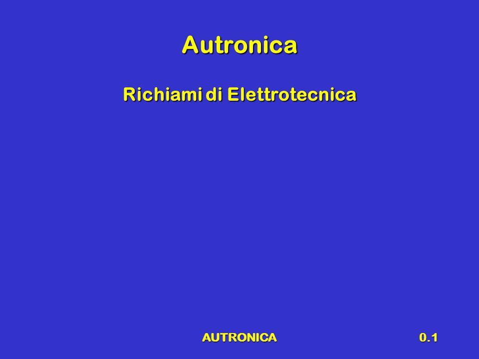 AUTRONICA0.1 Autronica Richiami di Elettrotecnica