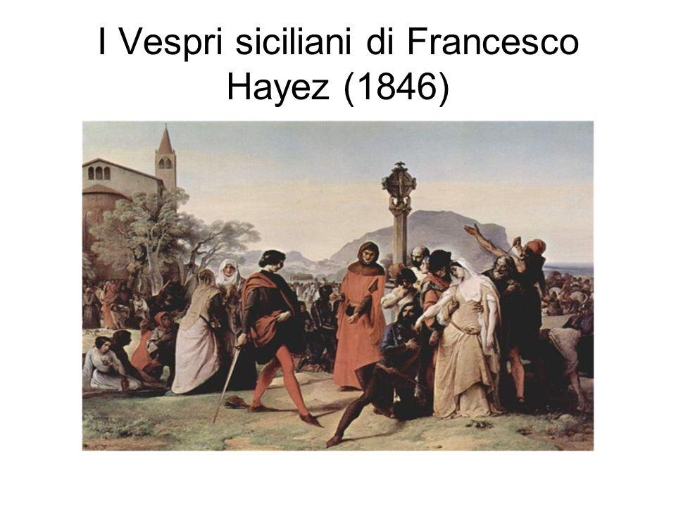 I Vespri siciliani di Francesco Hayez (1846)