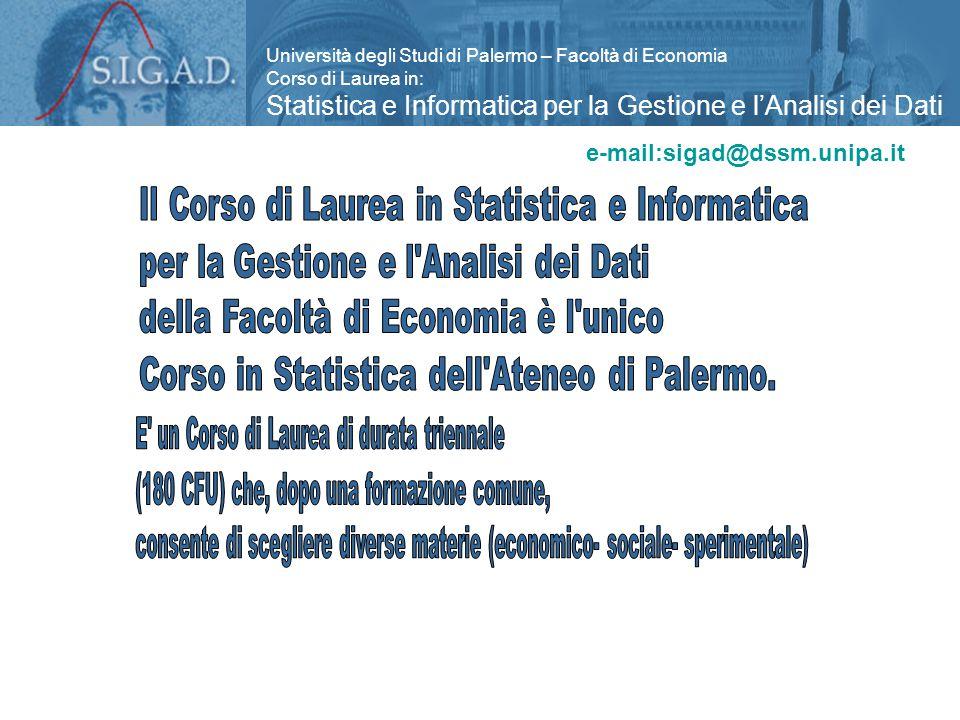 Info: Massimo Attanasio attana@unipa.it 0916626301