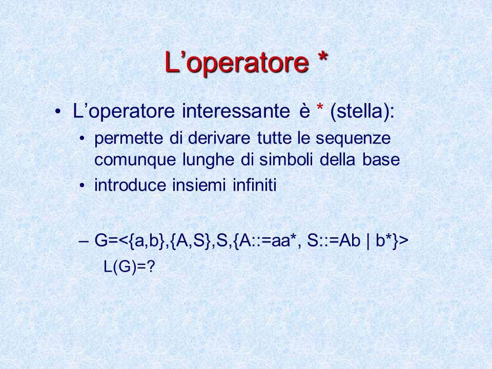 Osservazioni La semantica definisce un metodo effettivo di calcolo del linguaggio.