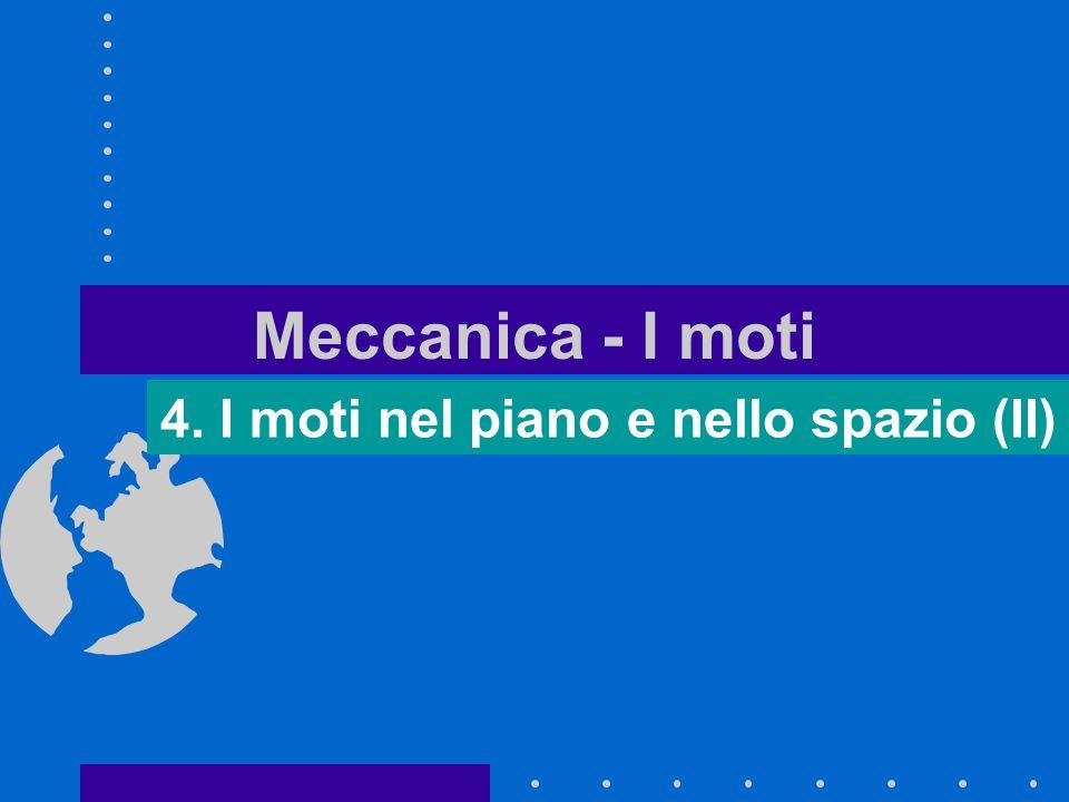 Meccanica - I moti 4. I moti nel piano e nello spazio (II)