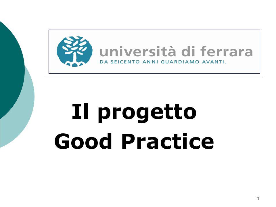 1 Il progetto Good Practice