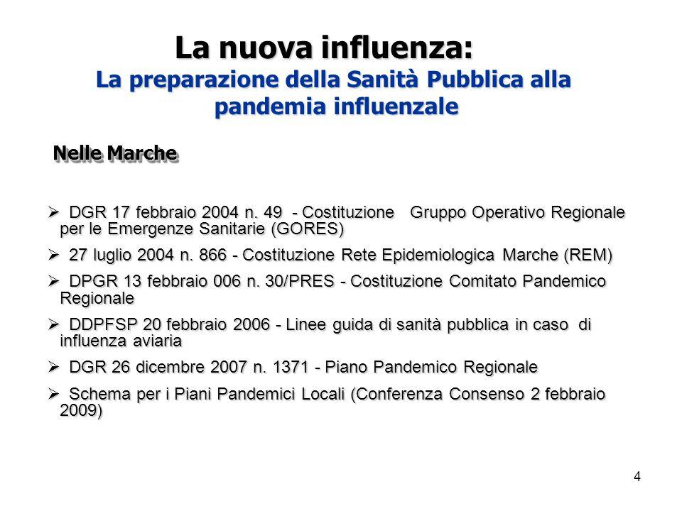 4 Nelle Marche  DGR17 febbraio 2004 n.