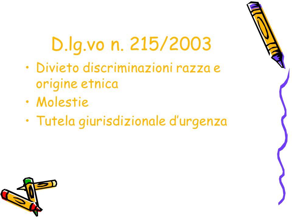 DIVIETO DI DISCRIMINAZIONE RETRIBUTIVA Articolo 28 d.lg.vo n.