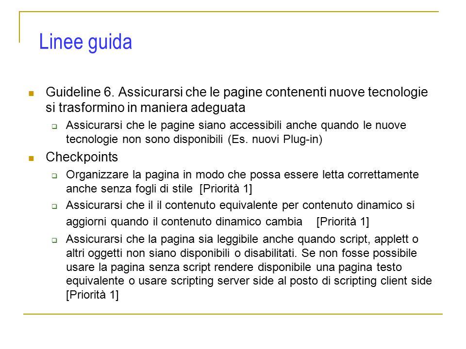 Guideline 6.