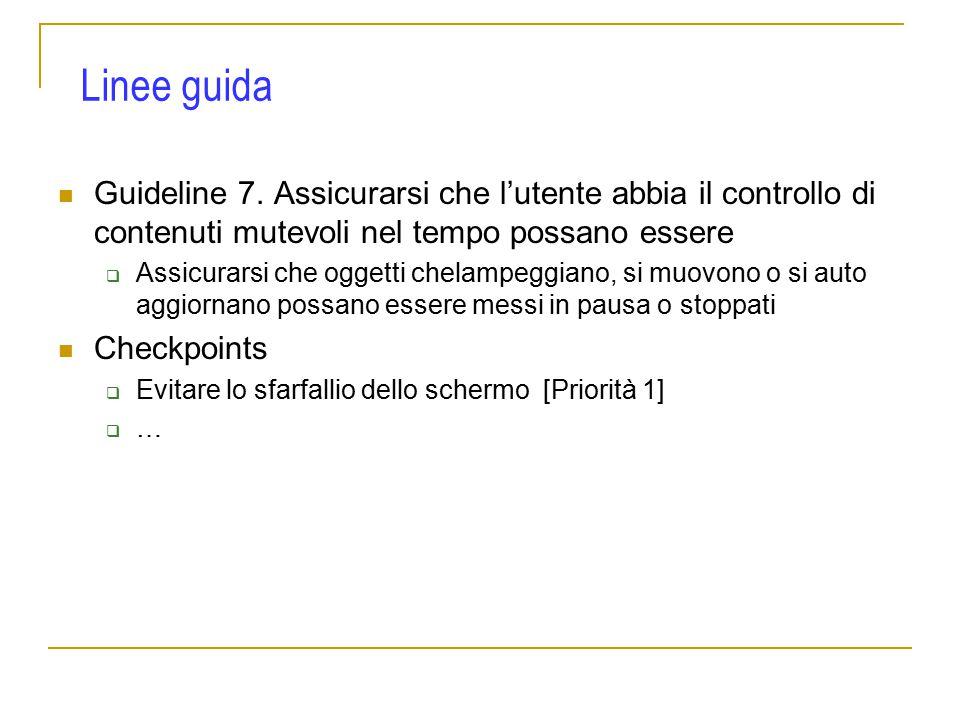 Guideline 7.