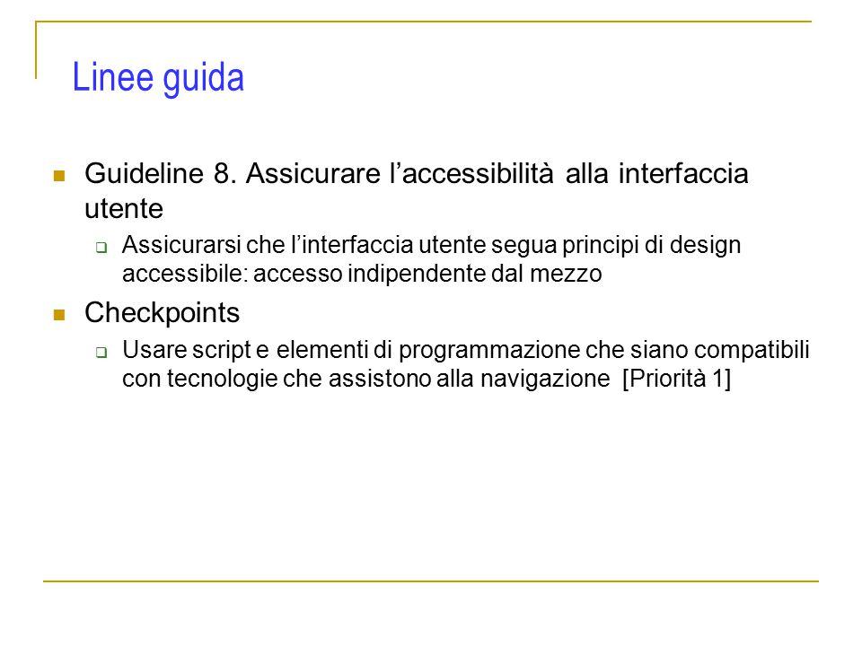 Guideline 8.