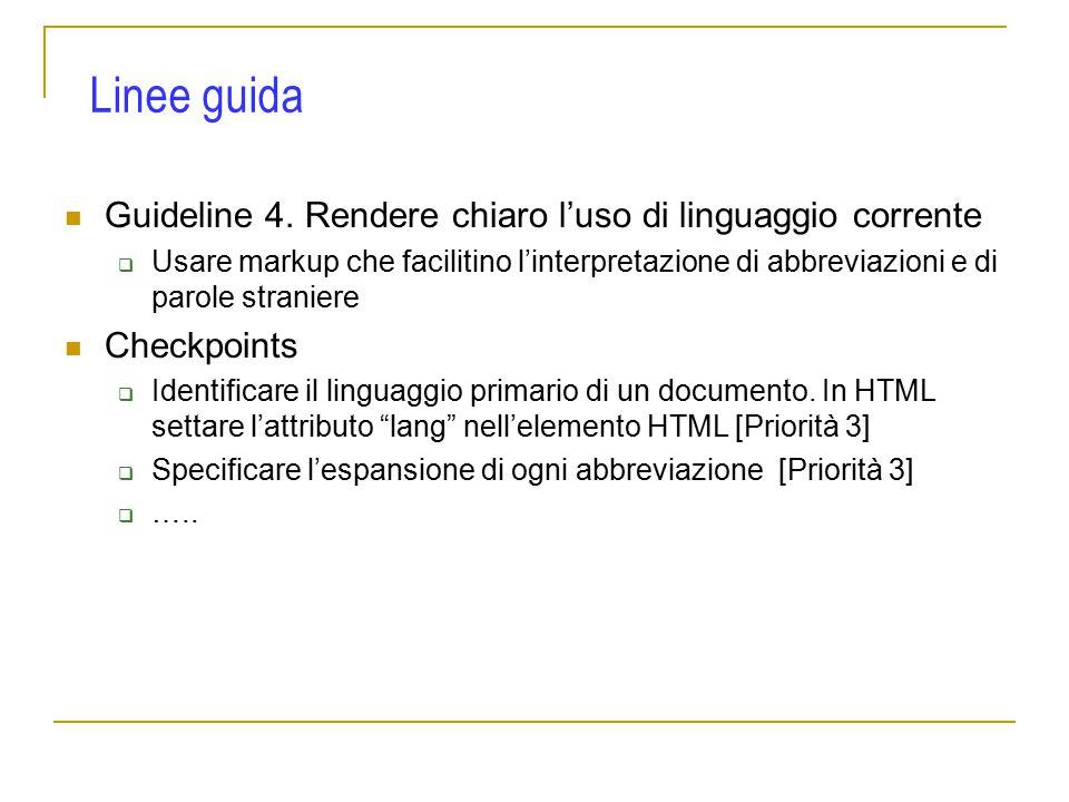 Guideline 4.