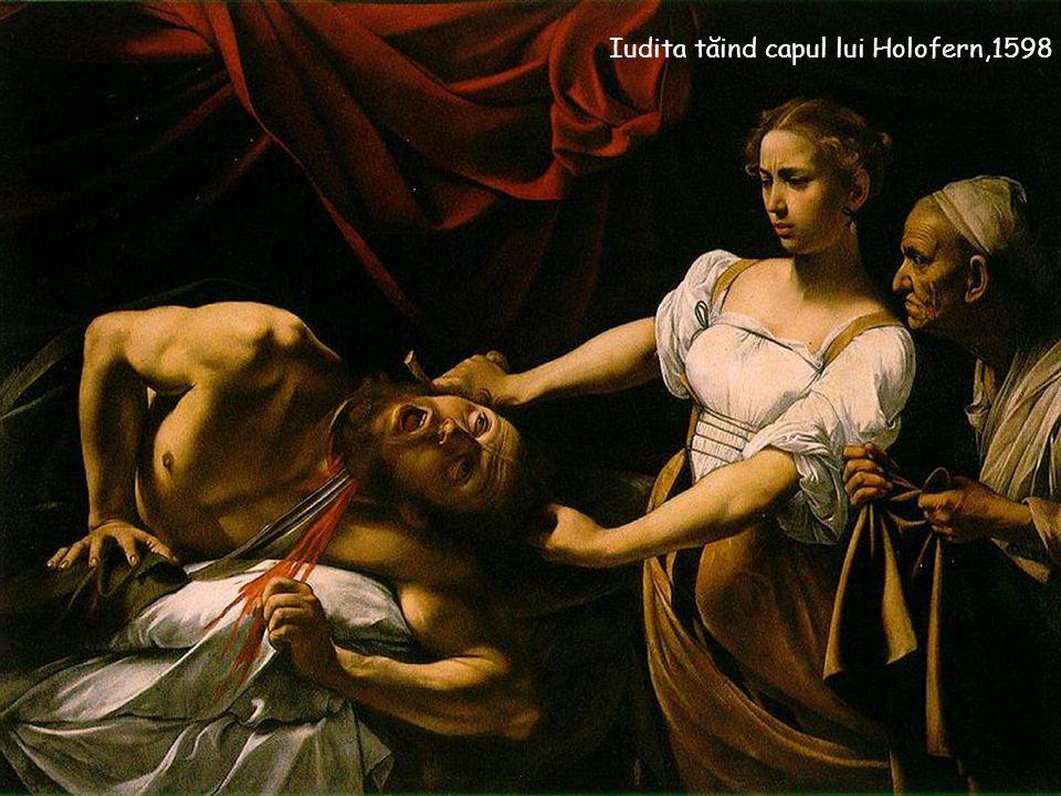 Iudita tăind capul lui Holofern,1598