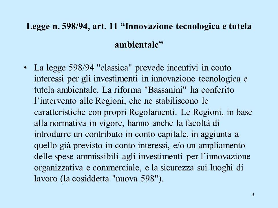 3 Legge n.598/94, art.