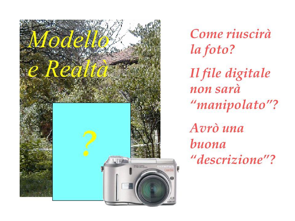 Come riuscirà la foto. Il file digitale non sarà manipolato .