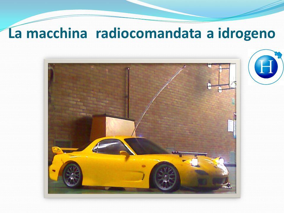 La macchina radiocomandata a idrogeno